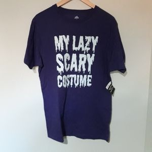 Other - Halloween men's tee - Lazy Costume
